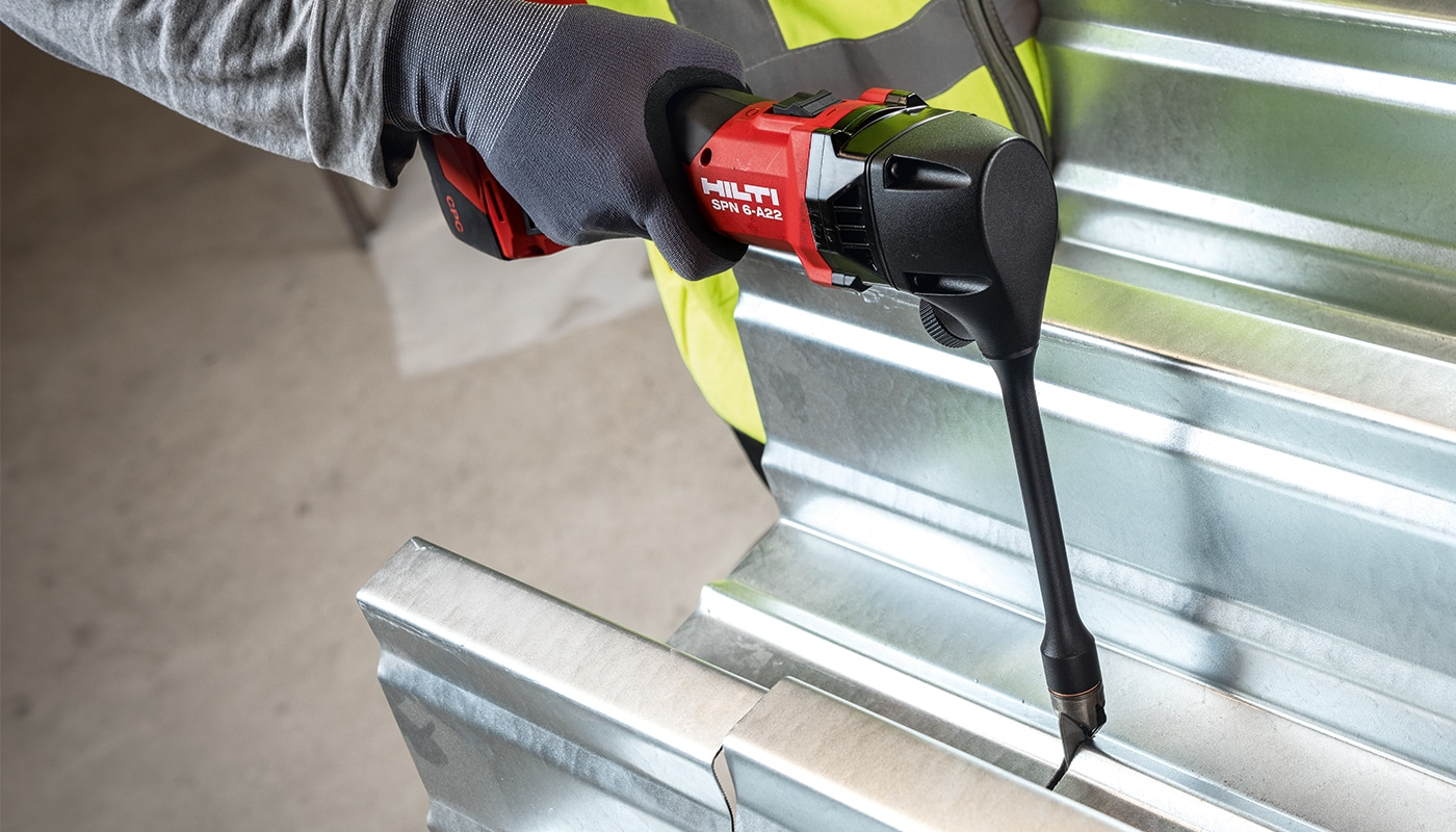 Introducing the SPN 6-A22 Cordless Nibbler for metal working